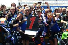 van der Mark, Yamaha back on top after 'incredible' weekend