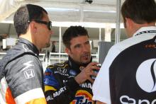 Podium for Tagliani in kart outing.
