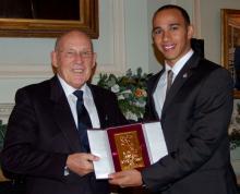 Hamilton honoured with Segrave, BRDC awards.