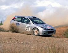 Four M-Sport Ford's ready for Wales Rally GB.
