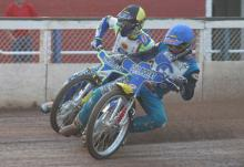 Comptons joins Short-track spectacle