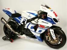 Tyco Suzuki unveils new livery for 2013