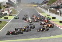 Barcelona: GP2 feature race results