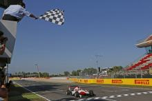 Barcelona: GP3 race 1 results