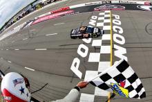 Pocono: Sprint Cup Series results