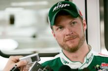 Protege Keselowski surprises Earnhardt