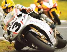 Road racing legend's popularity lives on