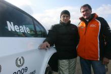 Neate to make racing return with WSR