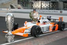 Wheldon Indy 500 winner model goes on sale