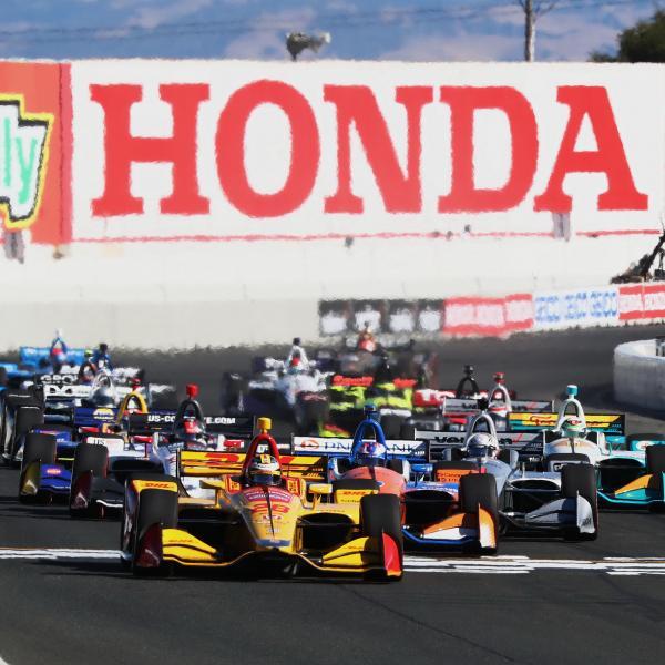 IndyCar Grand Prix of Sonoma - Hasil Balapan