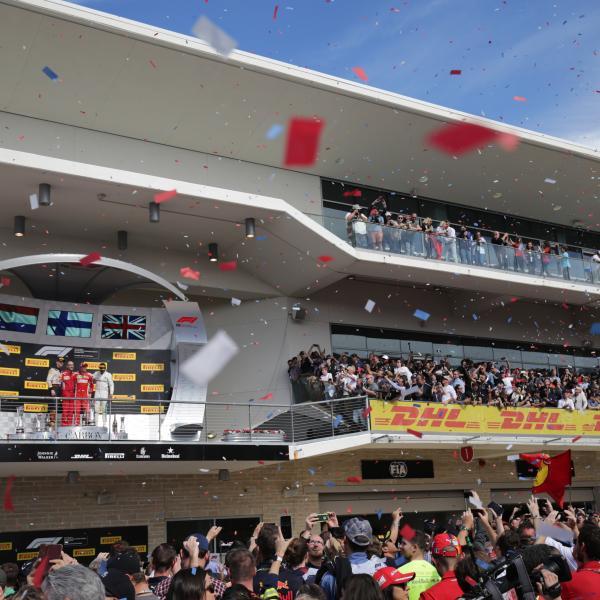 Kimi Raikkonen, Lewis Hamilton, Max Verstappen, F1, United States Grand Prix, COTA,