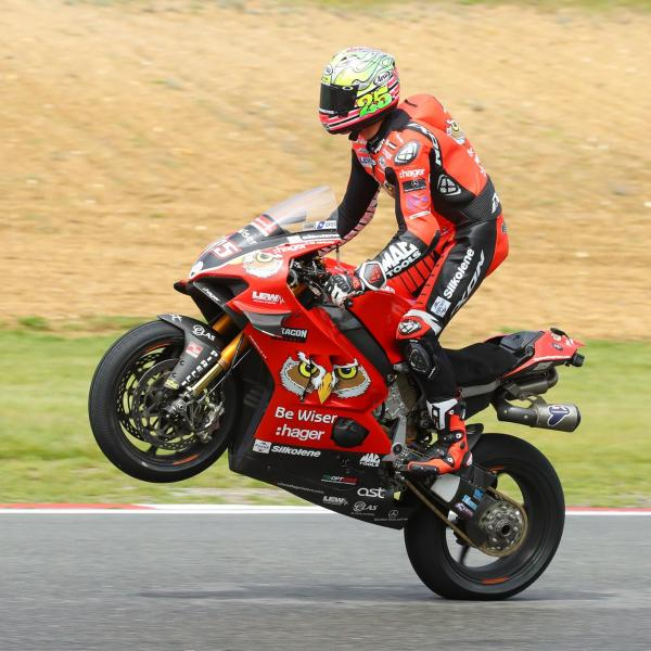 Brookes tops podium credit reckoning with smart double