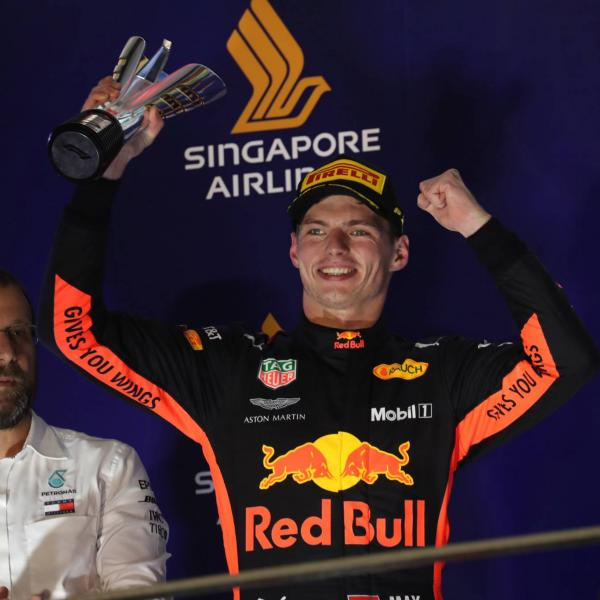 Verstappen's Singapore GP composure shows he's maturing – Brawn