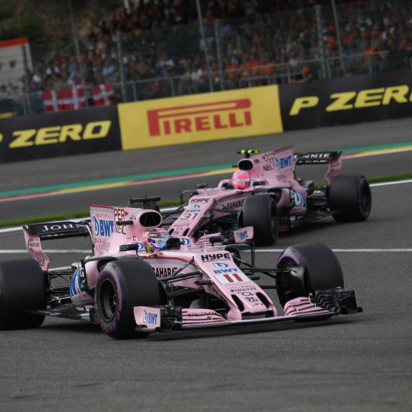 Force India drivers made aware of new team policy after Spa clash
