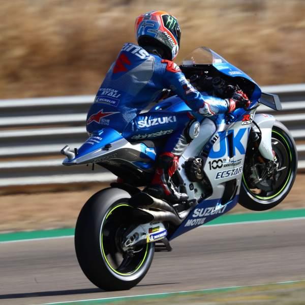 Alex Rins , Aragon MotoGP. 17 October 2020
