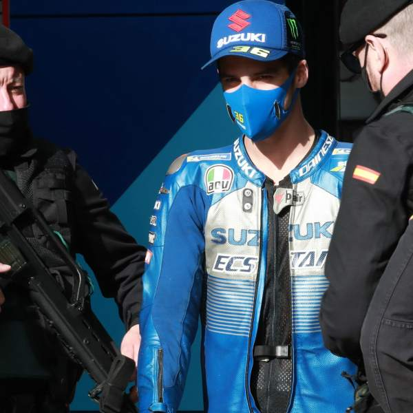 Joan Mir , Teruel MotoGP. 25 October 2020