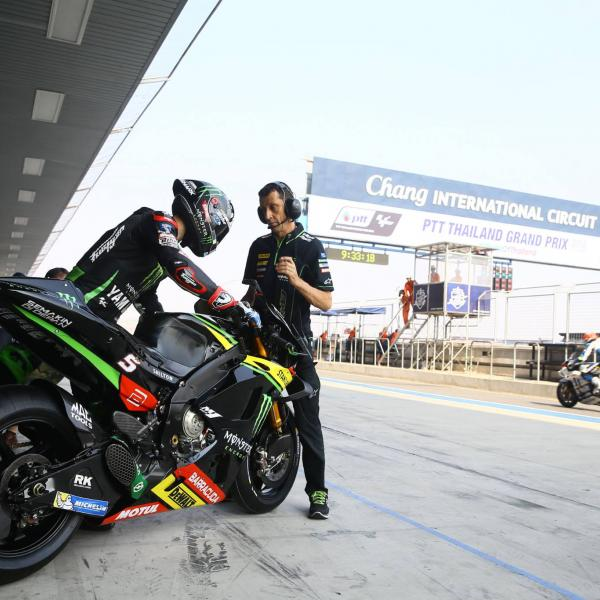 Zarco boosted by 'flying' Buriram form