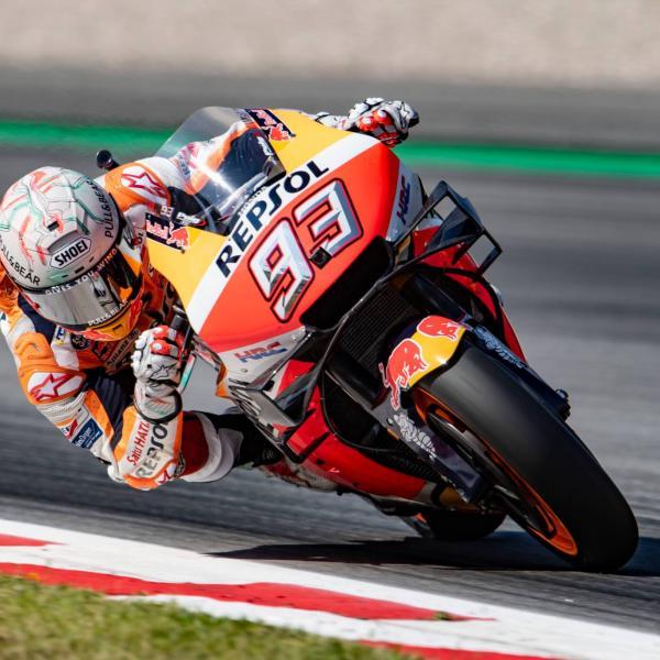 New chassis, aero, plus 2018 parts on Marquez test agenda