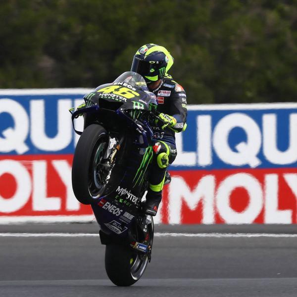 Rossi: 400 balapan dimulai dalam angka