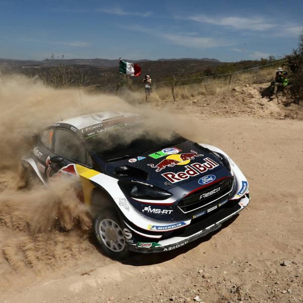 Rally Mexico - Hasil