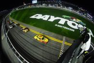 Joey Logano, driver of the #22 Shell Pennzoil Ford