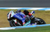 Lowes, Australian WSBK test and race, 2014