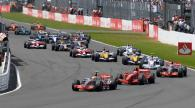 Start, British F1, Silverstone, 6-8th, July, 2007