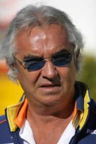 Flavio Briatore (ITA) Renault Team Principal, European F1 Grand Prix, Nurburgring, 20th-22nd, July,
