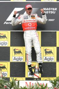 Lewis Hamilton (GBR) McLaren MP4/22, Hungarian F1, Hungaroring, 3rd-5th, August, 2007