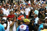 Rossi and Spies, Indianapolis MotoGP 2008