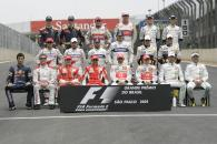 End Of Year Photo 2008, Brazilian F1 Grand Prix, Interlagos, 30th October 2008-2nd, November, 2008