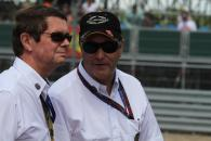 Race, Nigel Mansell (GBR) FIA Race Steward this weekend and Garry Connelly