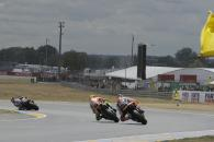 Rossi, overtaking under yellow flag, French MotoGP Race 2011