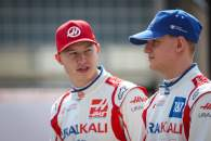 Mick Schumacher (GER), Haas F1 Team and Nikita Mazepin (RUS), Haas F1 Team