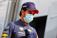 Sergio Perez (MEX) Red Bull Racing.