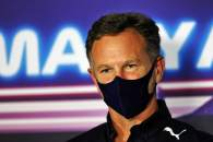 Christian Horner (GBR) Red Bull Racing Team Principal in the FIA Press Conference.
