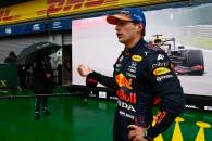 Pole sitter Max Verstappen (NLD) Red Bull Racing in qualifying parc ferme.