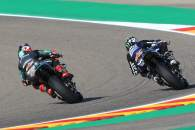 Fabio Quartararo, Maverick Vinales Aragon MotoGP. 16 October 2020