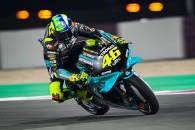 Valentino Rossi, glowing brake discs, MotoGP, Doha MotoGP 2 April 2021
