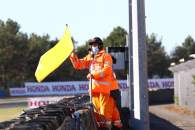 Yellow flag, French MotoGP, 10 October 2020