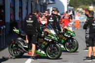 Jonathan Rea and Alex Lowes bike, Estoril WorldSBK 2020