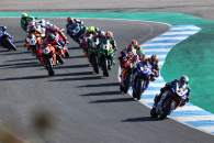 Toprak Razgatlioglu leads the race start, Estoril WorldSBK race2, 2020