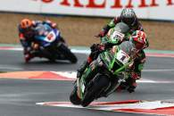 Jonathan Rea, Alex Lowes and Michael van der Mark, French WSBK Superpole race, 2020