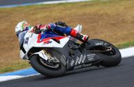 Troy Corser - BMW Motorrad Team Alpha Racing S1000RR [pic credit: GNG]